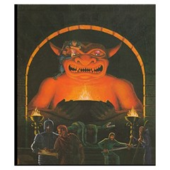 Ad&d 1e Phb Small Pouch (5 25  X 6 ) By Aron Clark   Drawstring Pouch (small)   Dum4uorosj4m   Www Artscow Com Back