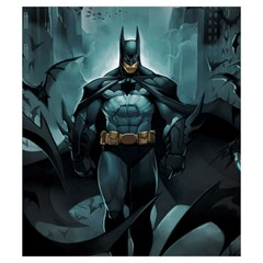 Batman Love Letter Small Deck Bag (art By El Grimlock) By Capnyb   Drawstring Pouch (small)   Tq7t8wo0apgo   Www Artscow Com Back