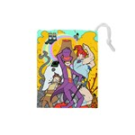 Super Jail Small Deck/Dice Bag - Drawstring Pouch (Small)