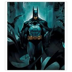 Batman Large Dice Bag (art By El Grimlock) By Capnyb   Drawstring Pouch (large)   N2qktn4z9hmq   Www Artscow Com Front