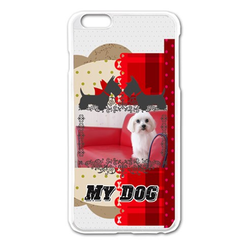 Pet By Pet    Apple Iphone 6 Plus/6s Plus Enamel White Case   D5vjhacz9fu4   Www Artscow Com Front