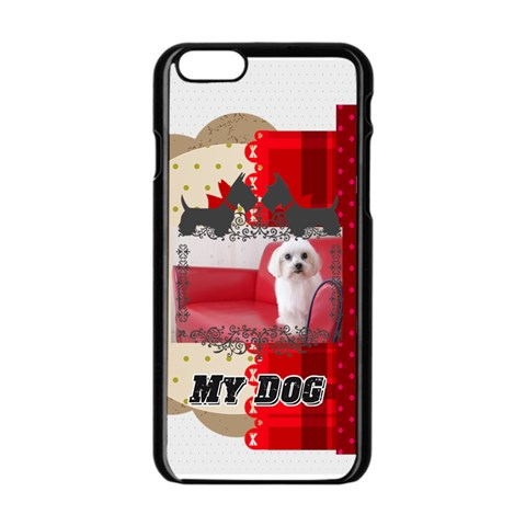 Pet By Pet    Apple Iphone 6/6s Black Enamel Case   Ooe4oil9dgrh   Www Artscow Com Front