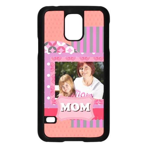 Mothers Day By Mom   Samsung Galaxy S5 Case (black)   6vq50s3b2iim   Www Artscow Com Front