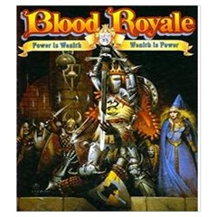 Blood Royale By Hector Cornejo   Drawstring Pouch (medium)   1hu0w6muthbi   Www Artscow Com Front