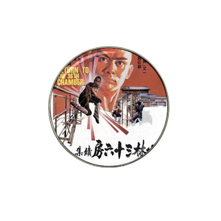 Shao Lin Ta Peng Hsiao Tzu D80d4dae Golf Ball Marker 4 Pack (for Hat Clip)