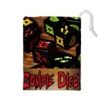 Zombie Dice II - Drawstring Pouch (Large)