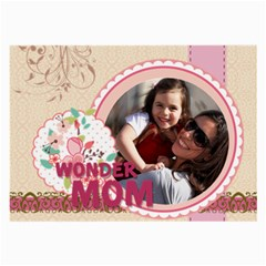 Mothers Day By Mom   Large Glasses Cloth (2 Sides)   Qfifec46sou8   Www Artscow Com Front