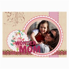 Mothers Day By Mom   Large Glasses Cloth (2 Sides)   Qfifec46sou8   Www Artscow Com Back