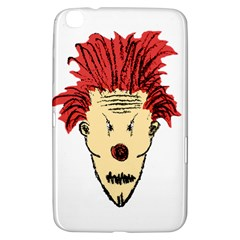Evil Clown Hand Draw Illustration Samsung Galaxy Tab 3 (8 ) T3100 Hardshell Case  by dflcprints