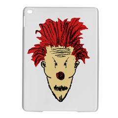 Evil Clown Hand Draw Illustration Apple Ipad Air 2 Hardshell Case by dflcprints