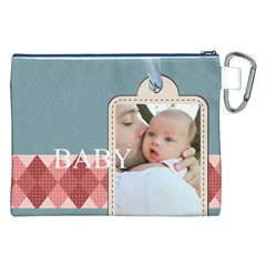 Baby By Baby   Canvas Cosmetic Bag (xxl)   Ch9x4u032kpw   Www Artscow Com Back