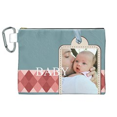 Baby By Baby   Canvas Cosmetic Bag (xl)   S4bz8x5mjnq2   Www Artscow Com Front