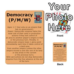 New Leader Deck By Steve Fowler   Multi Purpose Cards (rectangle)   Foigguzk1edv   Www Artscow Com Back 9