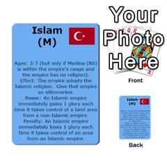 New Leader Deck By Steve Fowler   Multi Purpose Cards (rectangle)   Foigguzk1edv   Www Artscow Com Back 12