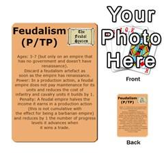 New Leader Deck By Steve Fowler   Multi Purpose Cards (rectangle)   Foigguzk1edv   Www Artscow Com Back 18