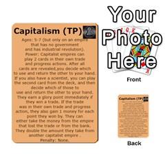 New Leader Deck By Steve Fowler   Multi Purpose Cards (rectangle)   Foigguzk1edv   Www Artscow Com Back 20