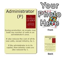 New Leader Deck By Steve Fowler   Multi Purpose Cards (rectangle)   Foigguzk1edv   Www Artscow Com Front 31