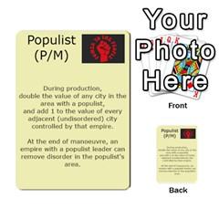 New Leader Deck By Steve Fowler   Multi Purpose Cards (rectangle)   Foigguzk1edv   Www Artscow Com Front 36