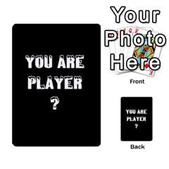 New Leader Deck By Steve Fowler   Multi Purpose Cards (rectangle)   Foigguzk1edv   Www Artscow Com Back 48