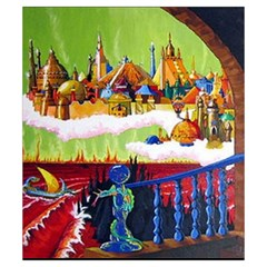 Ad&d 1e Dmg Small Pouch (5 25  X 6 ) By Aron Clark   Drawstring Pouch (small)   1ilh96av0f2k   Www Artscow Com Front