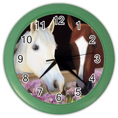Friends Forever Wall Clock (color) by JulianneOsoske