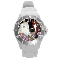 Friends Forever Plastic Sport Watch (large) by JulianneOsoske