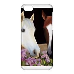 Friends Forever Apple Iphone 5c Hardshell Case by JulianneOsoske