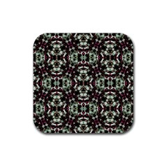 Geometric Grunge Drink Coaster (square) by dflcprints
