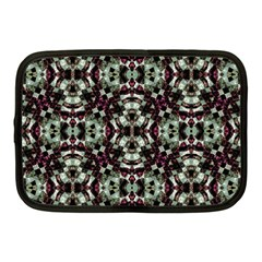 Geometric Grunge Netbook Sleeve (medium) by dflcprints
