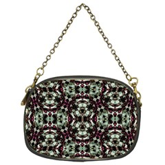 Geometric Grunge Chain Purse (one Side) by dflcprints