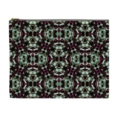 Geometric Grunge Cosmetic Bag (xl) by dflcprints