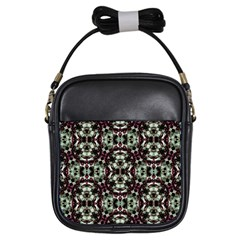 Geometric Grunge Girl s Sling Bag by dflcprints