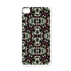 Geometric Grunge Apple Iphone 4 Case (white) by dflcprints