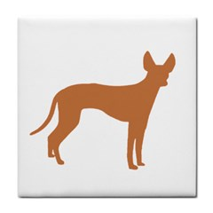 Cirneco Delletna Silo Color Ceramic Tile by TailWags
