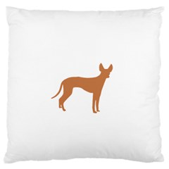 Cirneco Delletna Silo Color Standard Flano Cushion Case (Two Sides) by TailWags