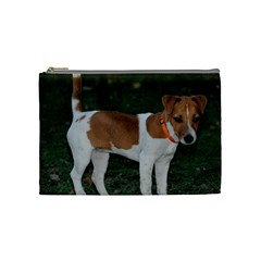 Jack Russell Terrier Full Cosmetic Bag (Medium) by TailWags