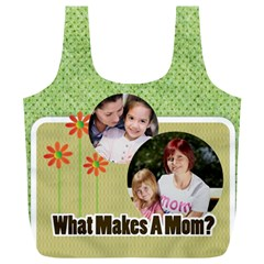 Mothers Day By Mom   Full Print Recycle Bag (xl)   G3gkjyo2jwaf   Www Artscow Com Front