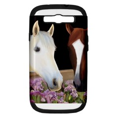 Friends Forever Samsung Galaxy S Iii Hardshell Case (pc+silicone) by JulianneOsoske