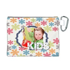 Kids By Mac Book   Canvas Cosmetic Bag (xl)   Kd7jv5lo2agt   Www Artscow Com Back