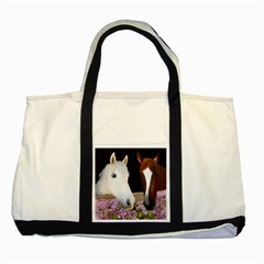 Friends Forever Two Toned Tote Bag by JulianneOsoske