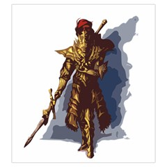 Ornstein By Cyril Nicard   Drawstring Pouch (large)   00uxv73h3dd1   Www Artscow Com Front
