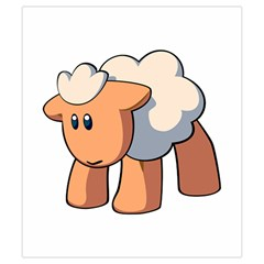 Mouton 1 By Cyril Nicard   Drawstring Pouch (small)   Enfe9gryet0h   Www Artscow Com Front
