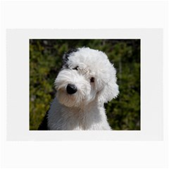 Old English Sheep Dog Pup Glasses Cloth (Large) by TailWags