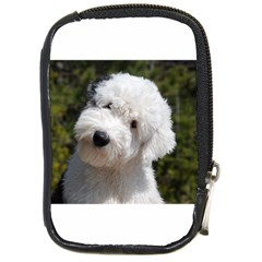 Old English Sheep Dog Pup Compact Camera Leather Case by TailWags