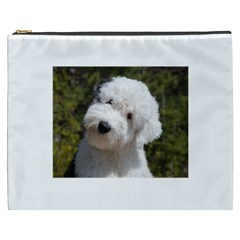 Old English Sheep Dog Pup Cosmetic Bag (XXXL) by TailWags