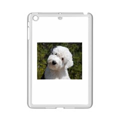 Old English Sheep Dog Pup Apple iPad Mini 2 Case (White) by TailWags