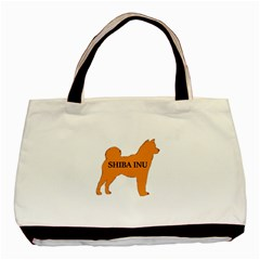 Shiba Inu Name Silo Color Classic Tote Bag by TailWags