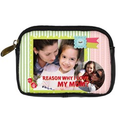 Mothers Day By Mom   Digital Camera Leather Case   Od20c4abhmga   Www Artscow Com Front