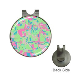Pastel Chaos Golf Ball Marker Hat Clip by LalyLauraFLM