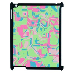 Pastel Chaos Apple Ipad 2 Case (black) by LalyLauraFLM
